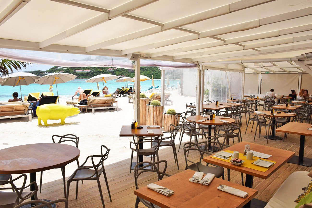 dicas de st barth - melhores restaurantes - la plage - tom beach hotel - baie st jean - lala rebelo