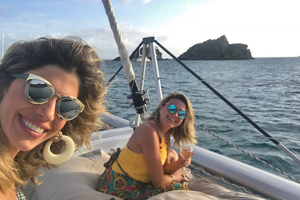 sunset cruise st barth jicky marine