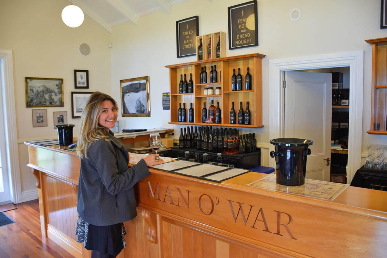 waiheke island - nova zelândia - man o war winery