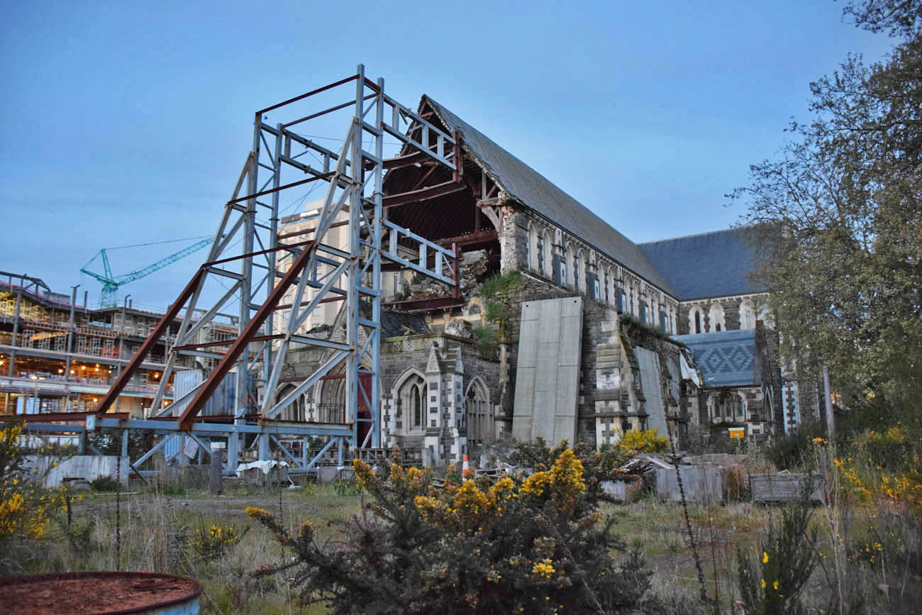 catedral de christchurch terremoto