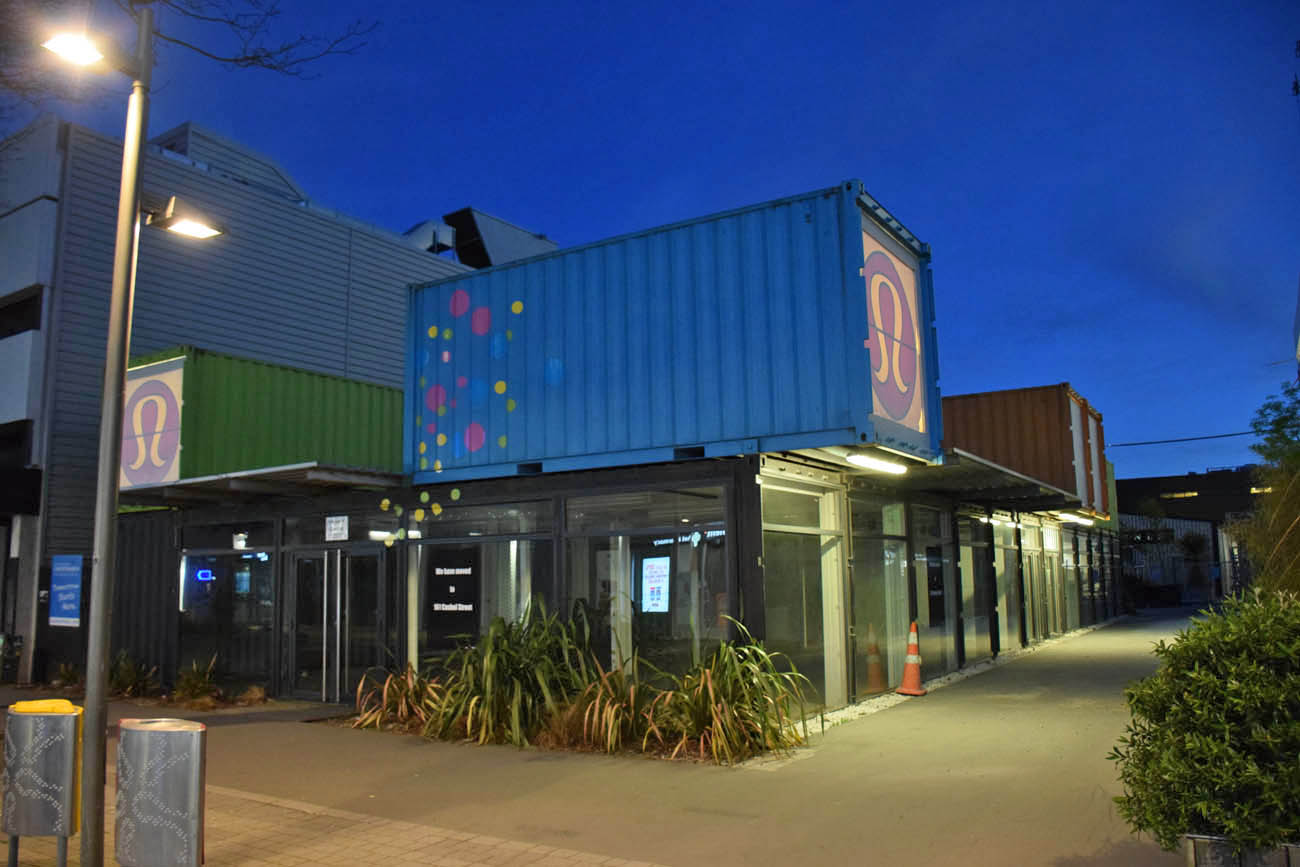 Re:START Mall - Shopping de Containers em Christchurch