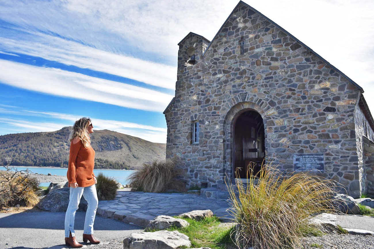 Church of the Good Shepherd - LAKE TEKAPO