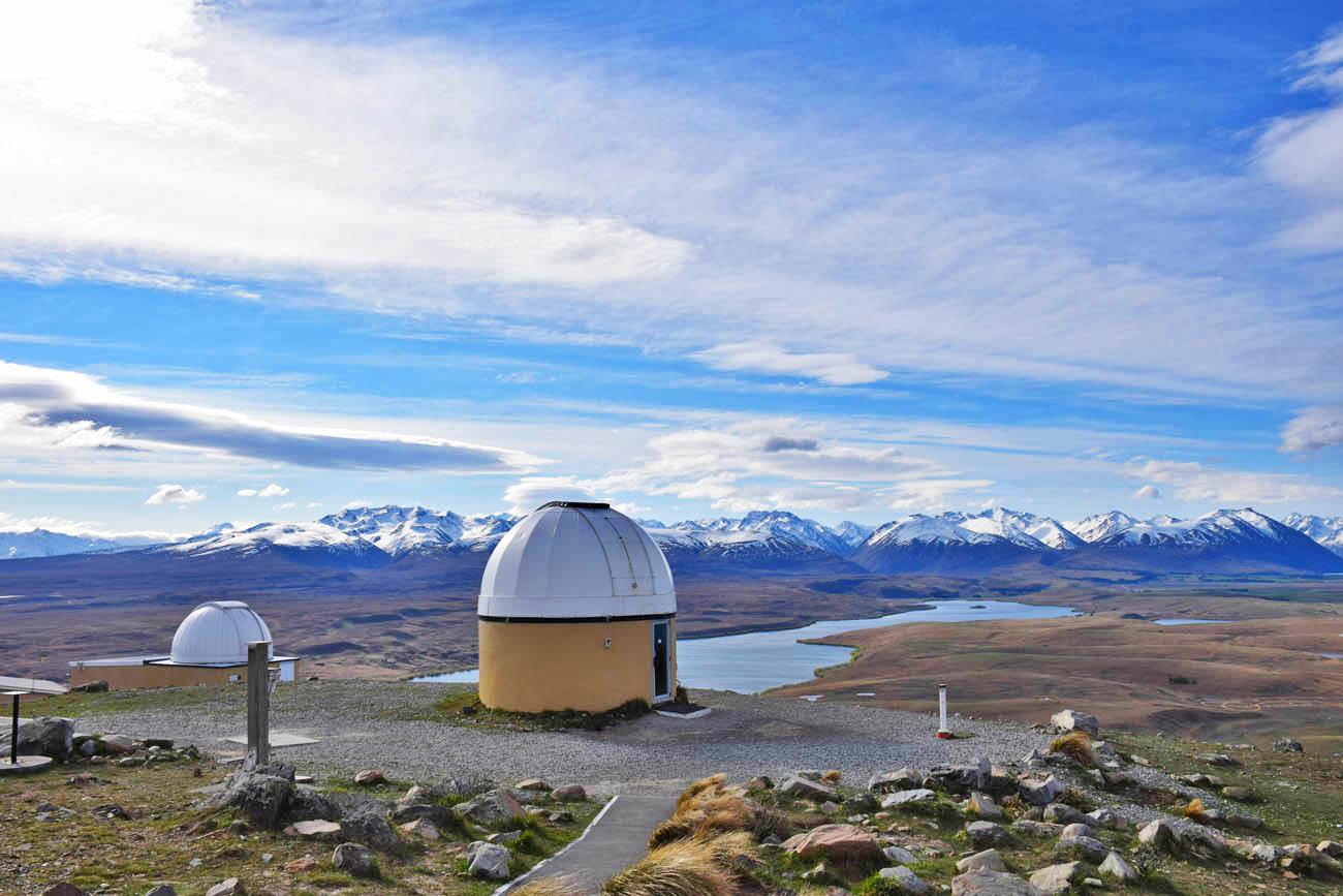 lake tekapo mt john observatory