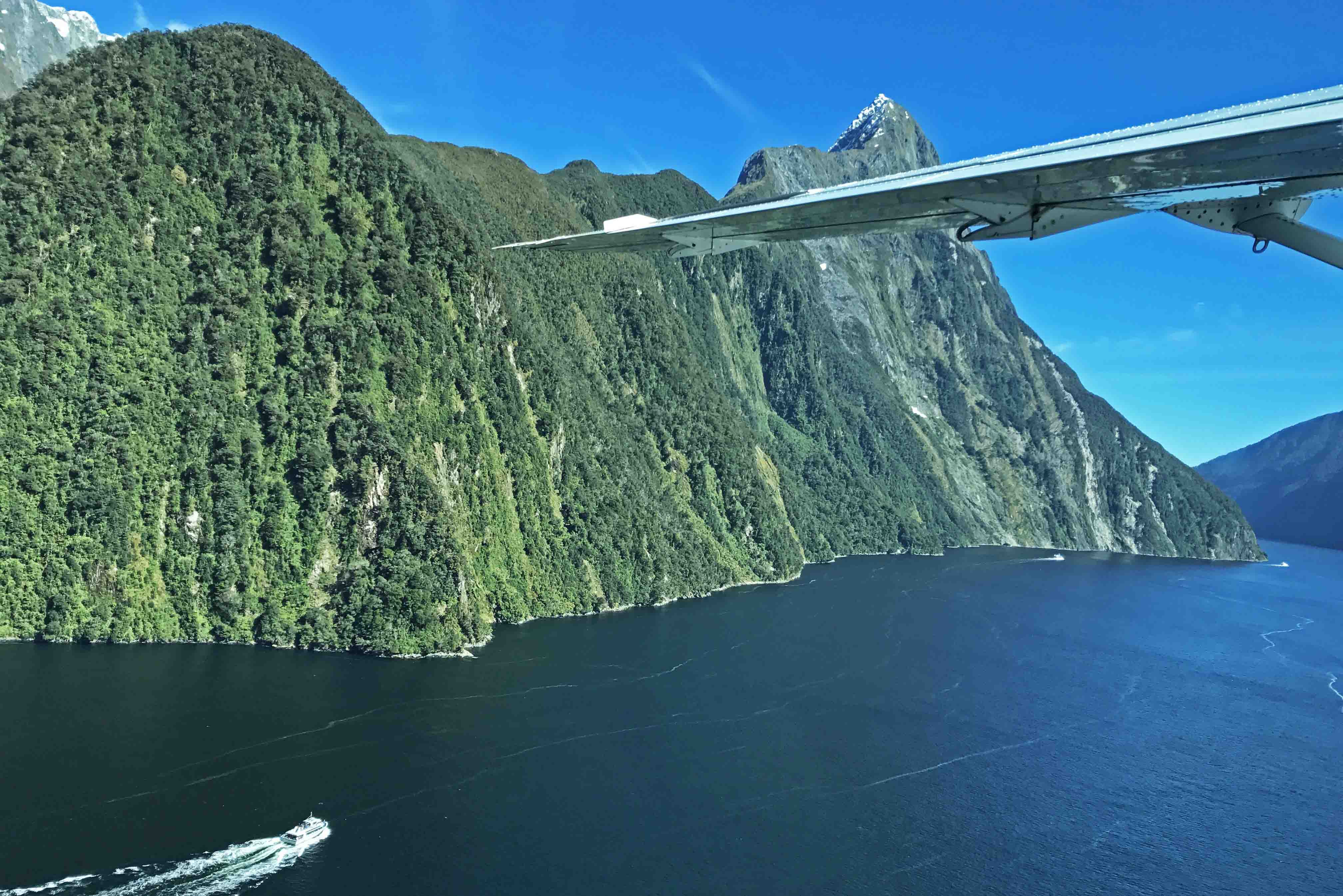 air milford flight - milford sound