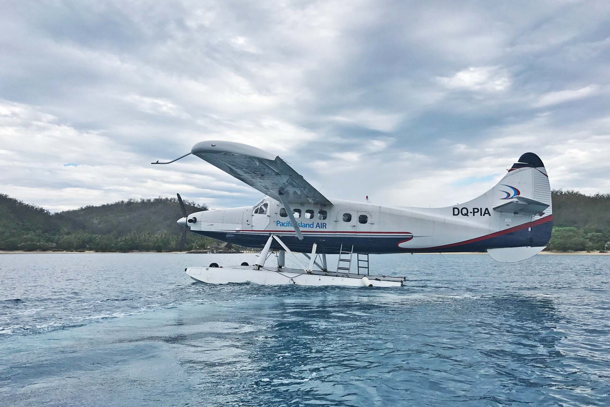 pacific island air seaplane fiji