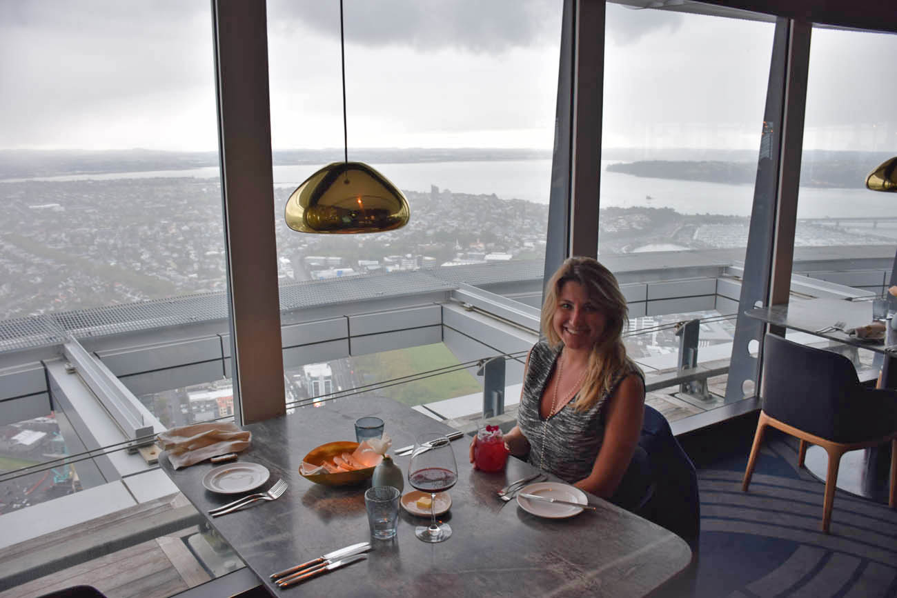 the sugar club restaurant sky tower auckland new zealand