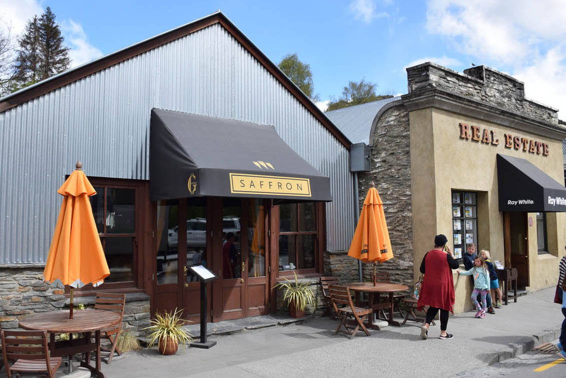saffron restaurant arrowtown