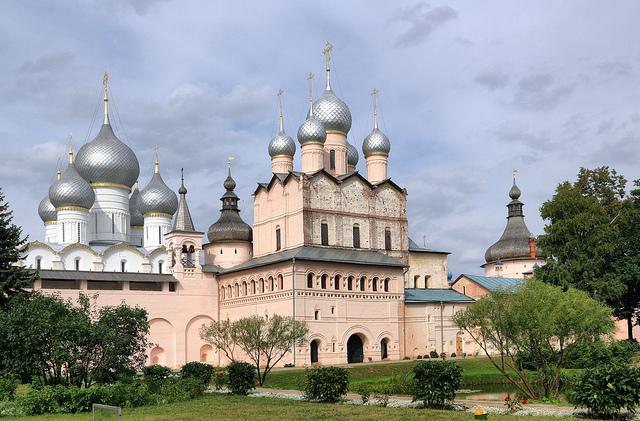 Kremlin de Rostov, Rússia - cidade onde o Brasil joga seu primeiro jogo da Copa do Mundo da Rússia 2018
