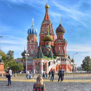 catedral de sao basilio moscou russia