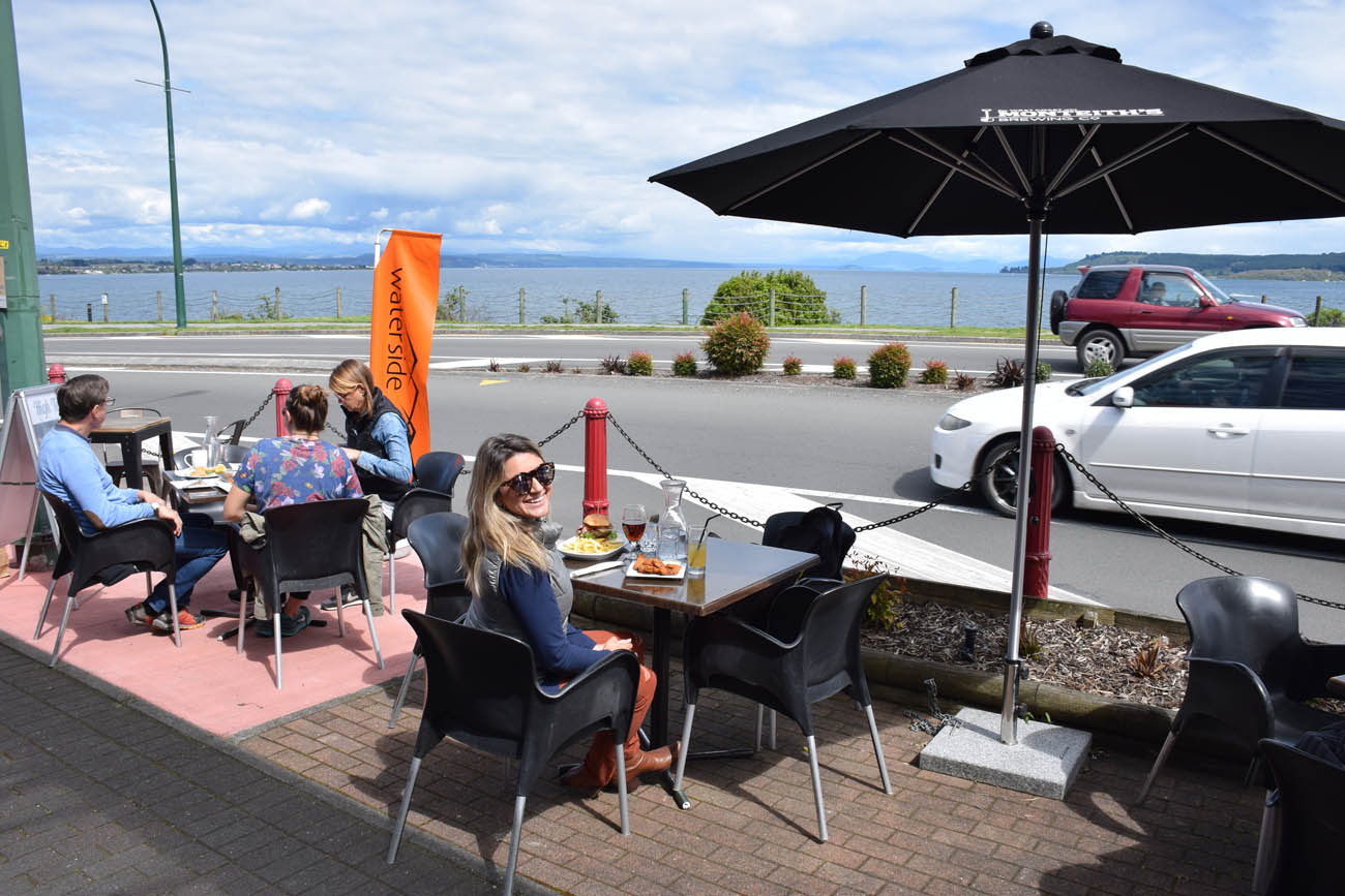 waterside restaurant taupo