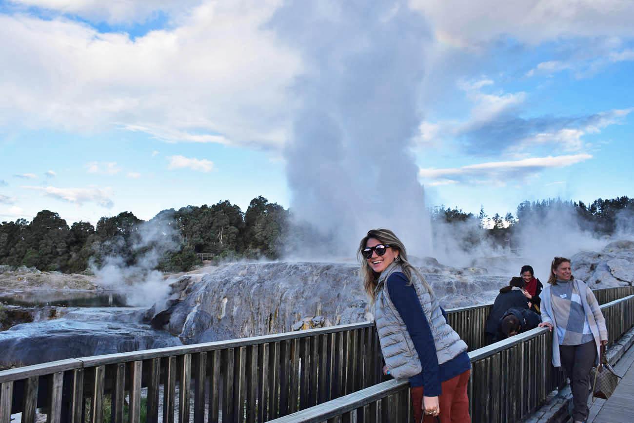 Pohutu Geyser - Te Puia - Rotorua