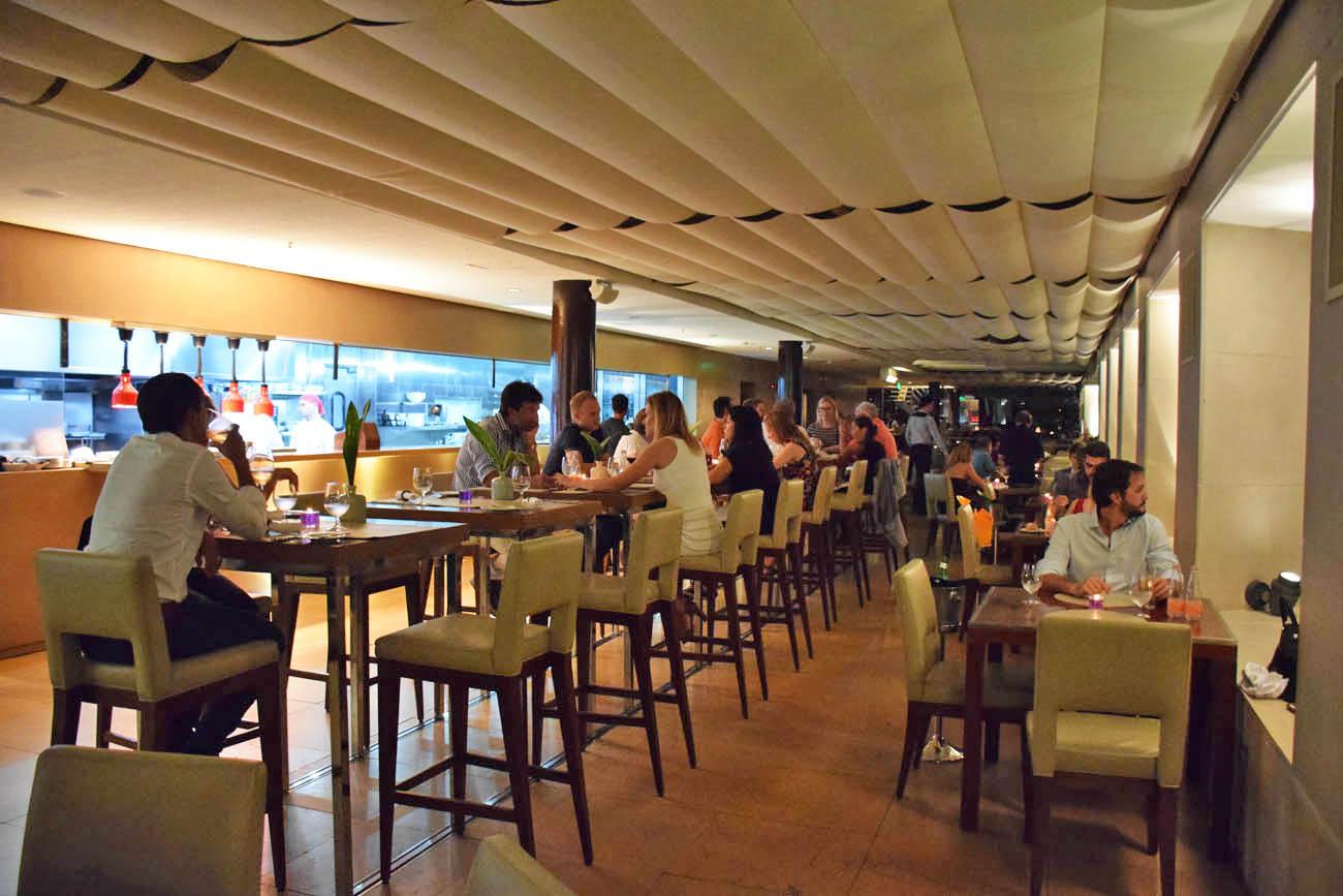 Hotel Unique são paulo restaurante skye