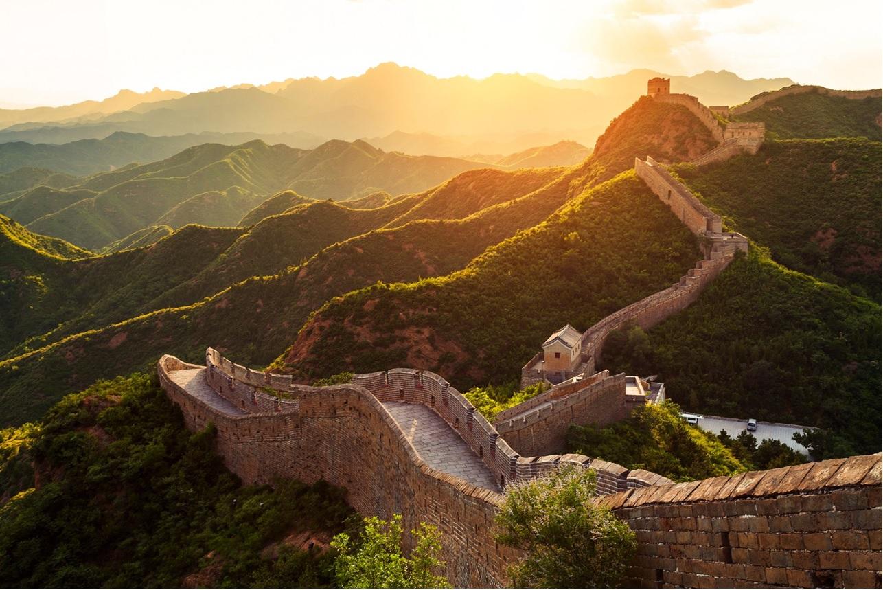Viagem de volta ao mundo de trem - Grande Muralha da China