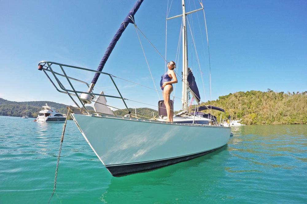 grávida pode viajar de barco - viagem para paraty - veleiro