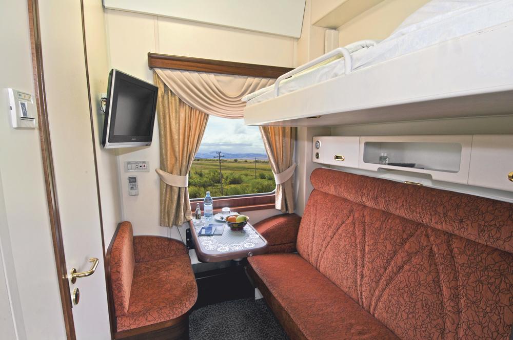 Viagem de volta ao mundo de trem - Trem Transiberiano