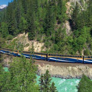 Volta ao mundo de Trem - Rocky Mountaineer