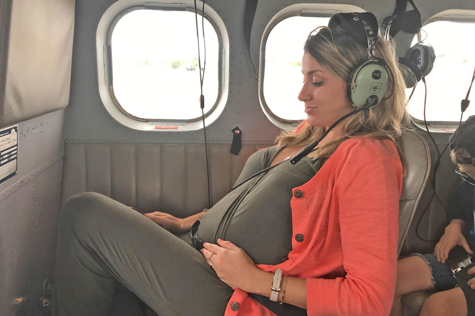 gravida viagem aviao fiji hidroaviao