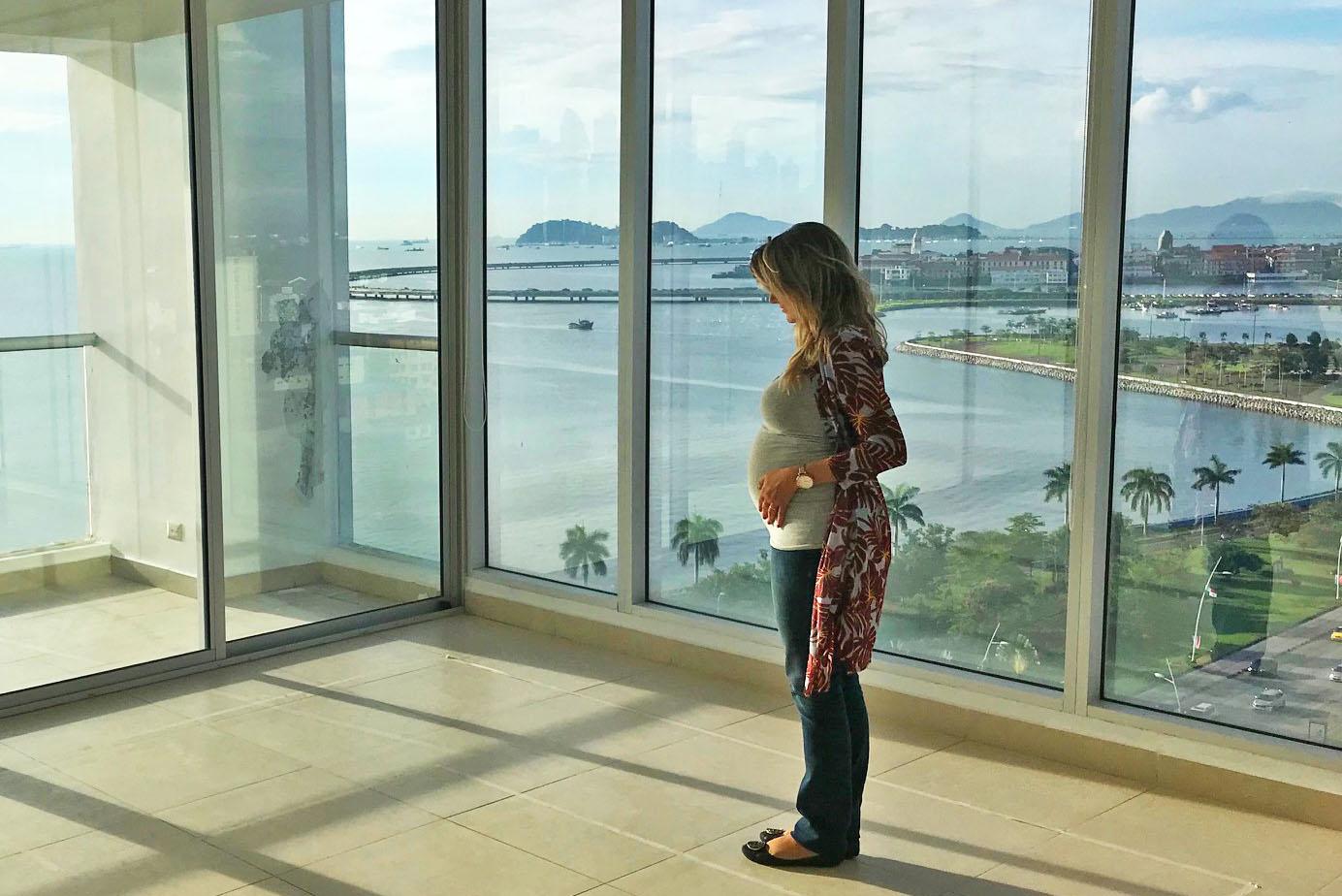 viagem de aviao gravida panama