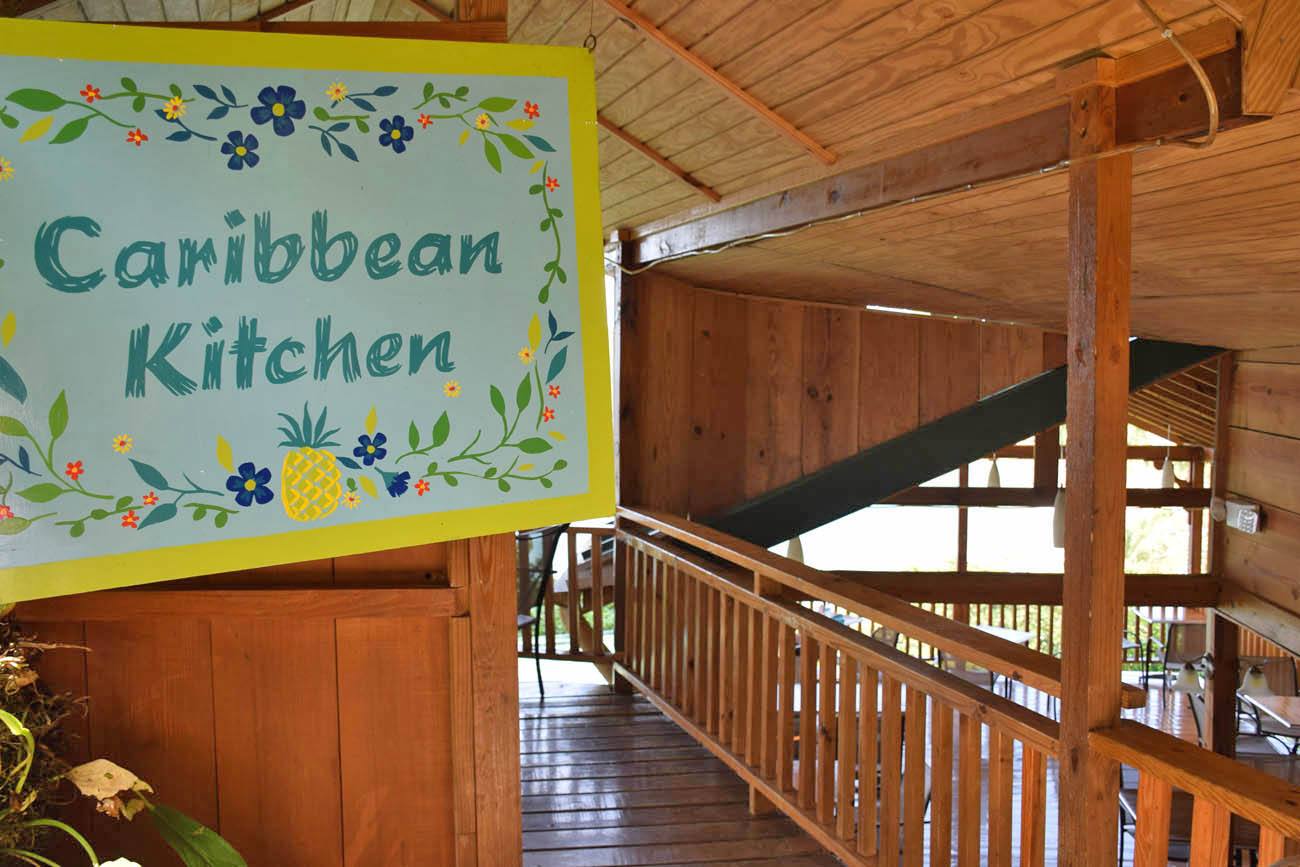 caribbean kitchen - castara retreats - tobago