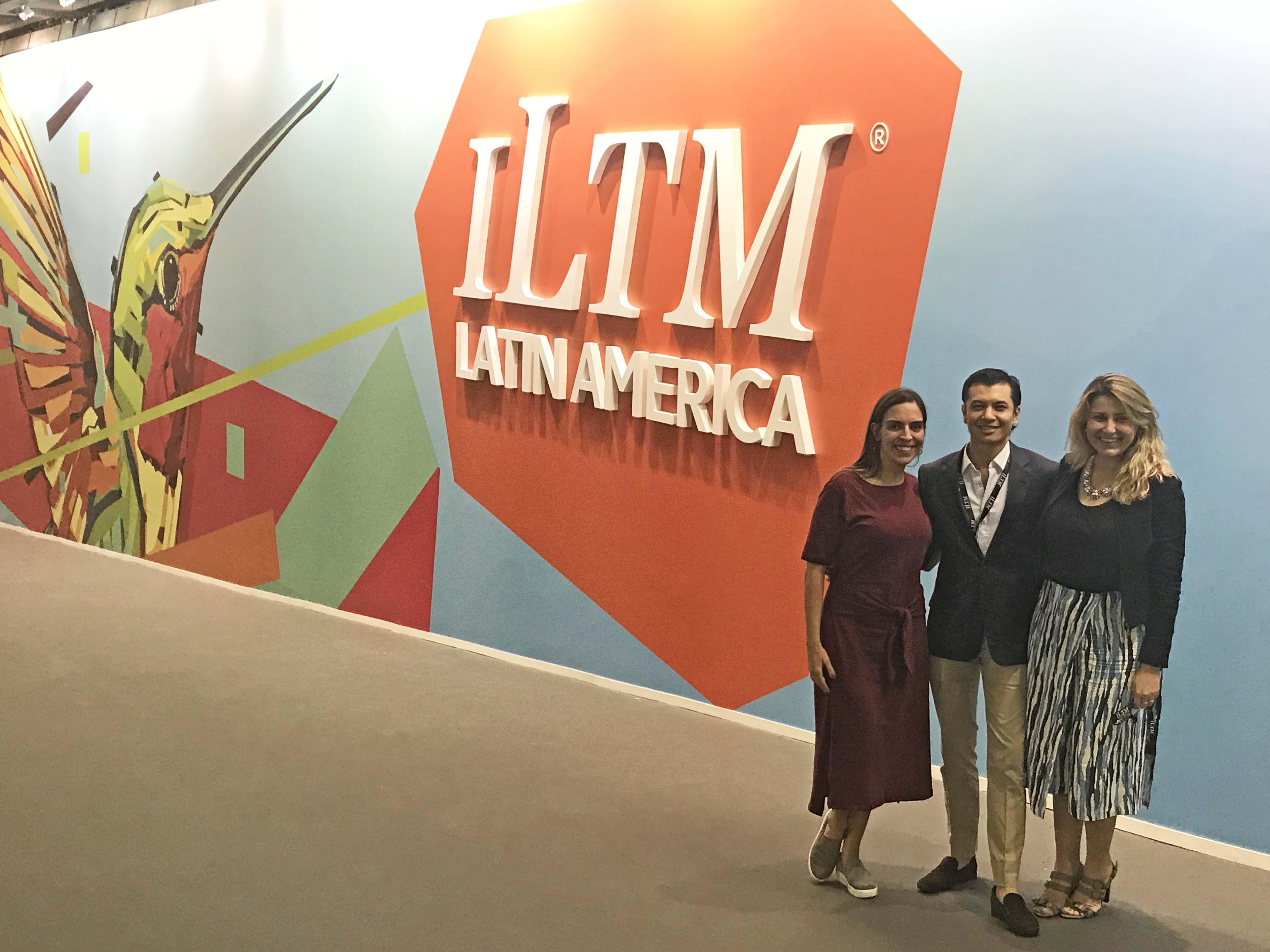 ILTM Latin America 2018 - lala rebelo - shoichi iwashita simonde - alessandra leite hotelnews