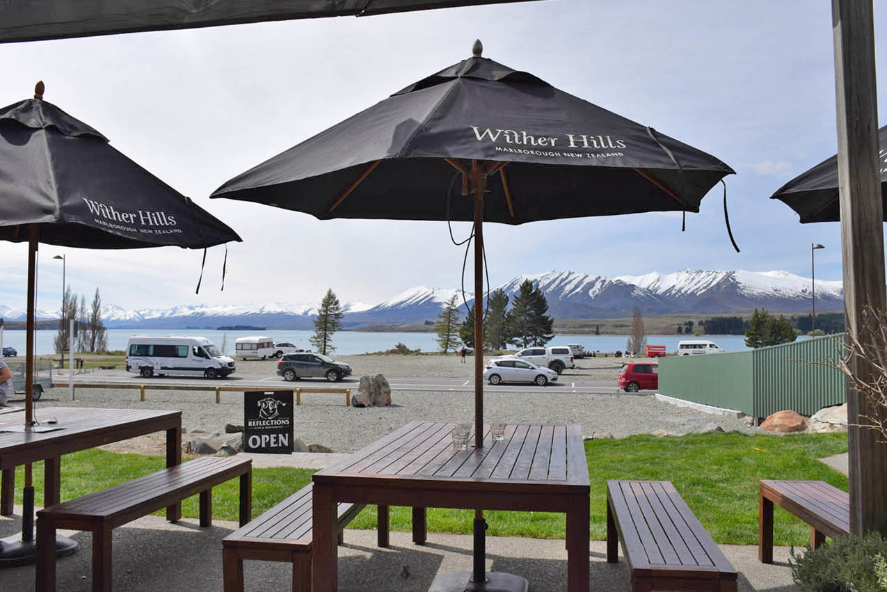 onde comer lake tekapo restaurantes reflections cafe