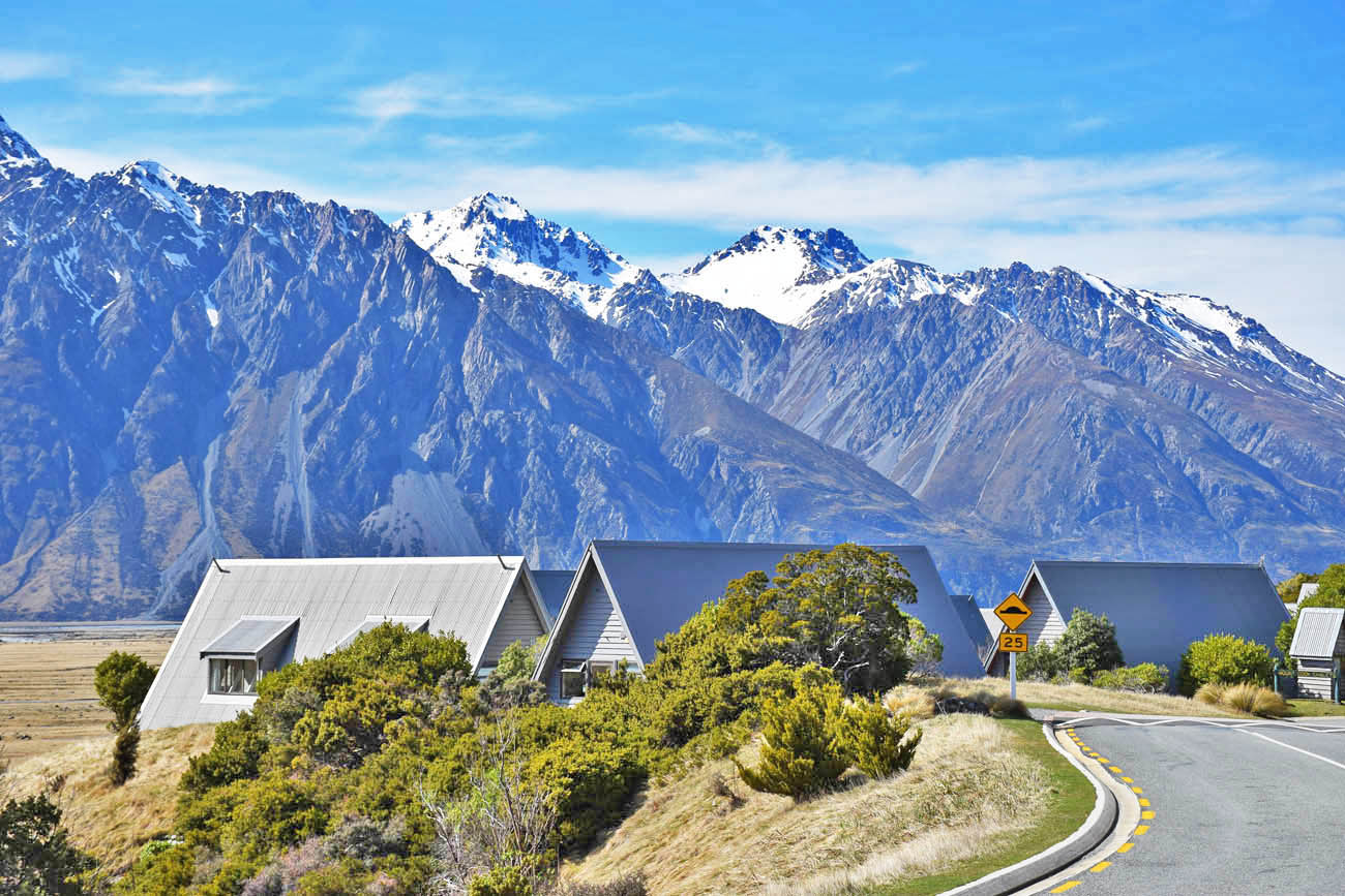 mount cook village lake pukaki