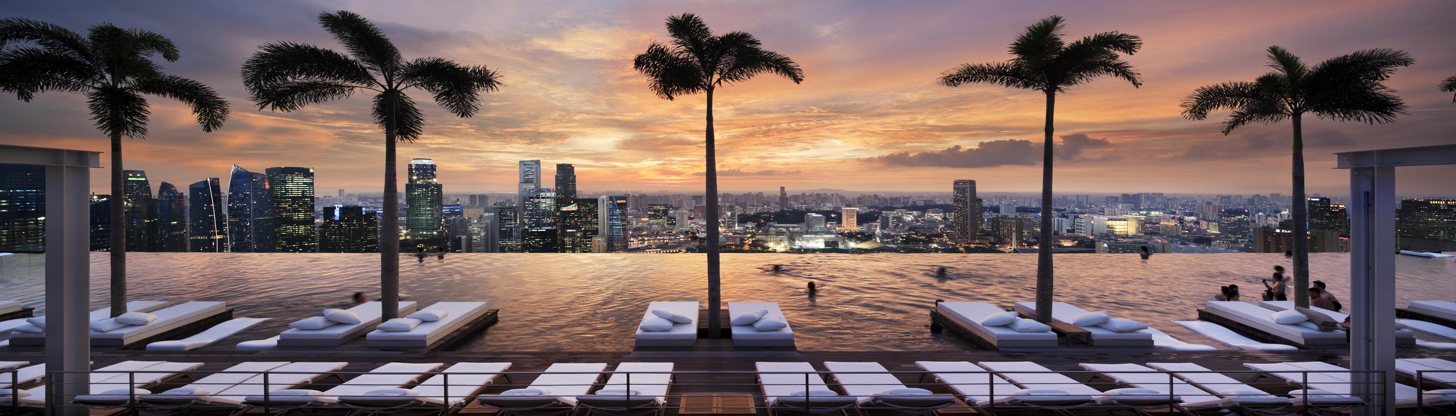 hotel marina bay sands piscina borda infinita singapura