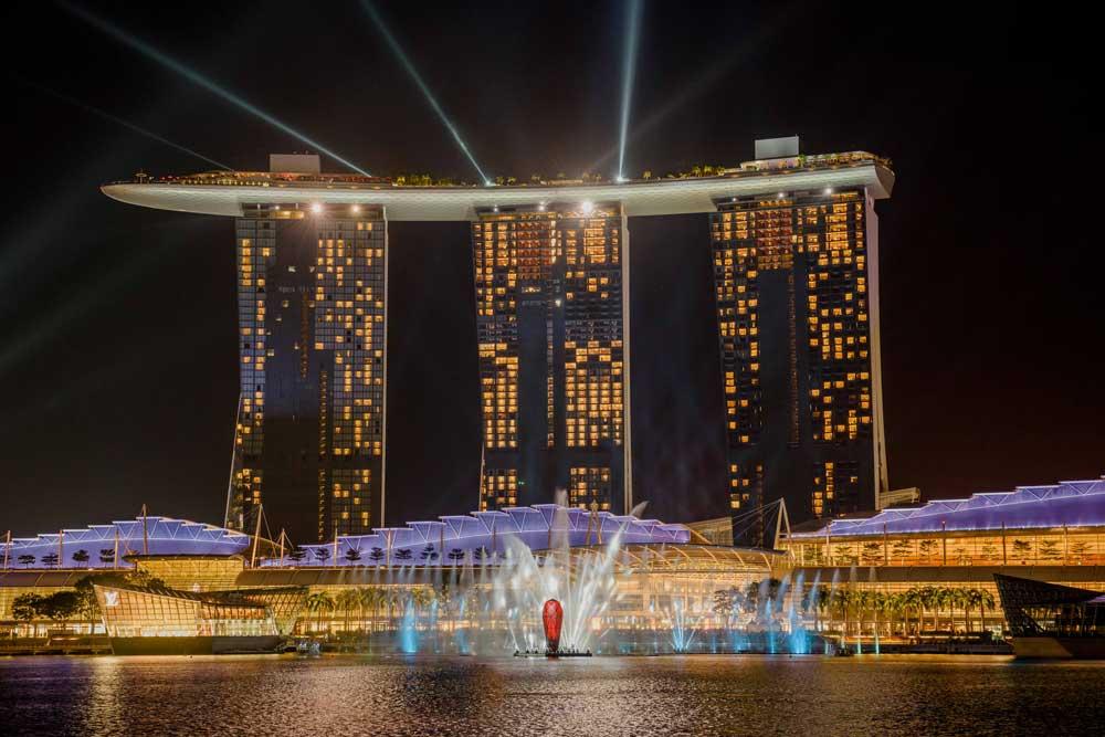 dicas de singapura - marina bay sands