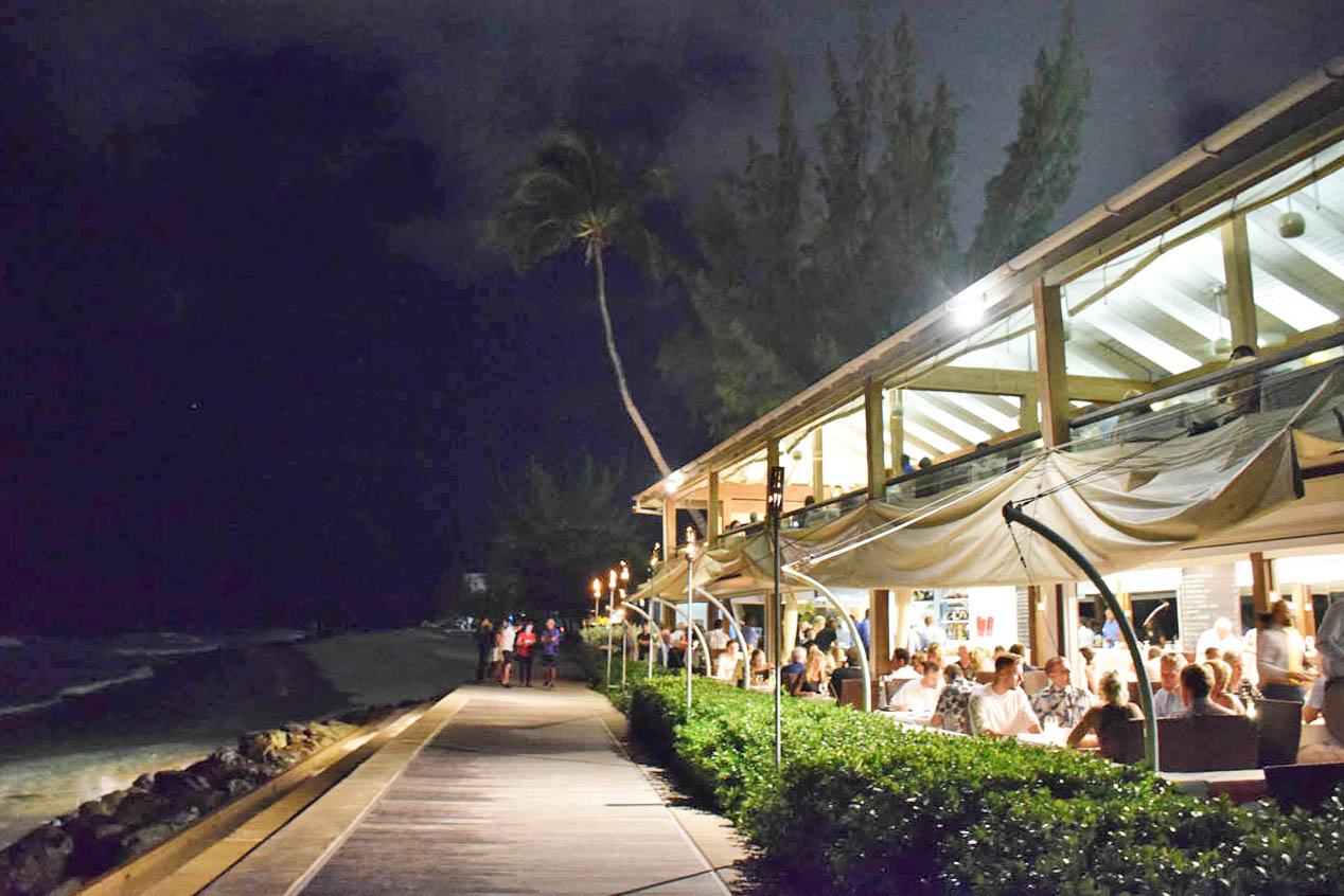 tapas restaurant barbados the boardwalk main road