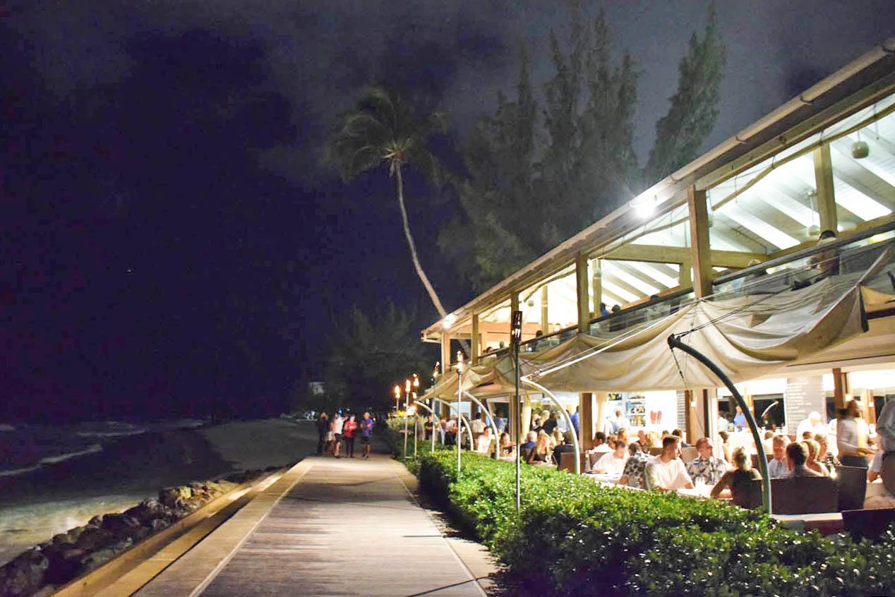 tapas restaurant barbados the boardwalk main road