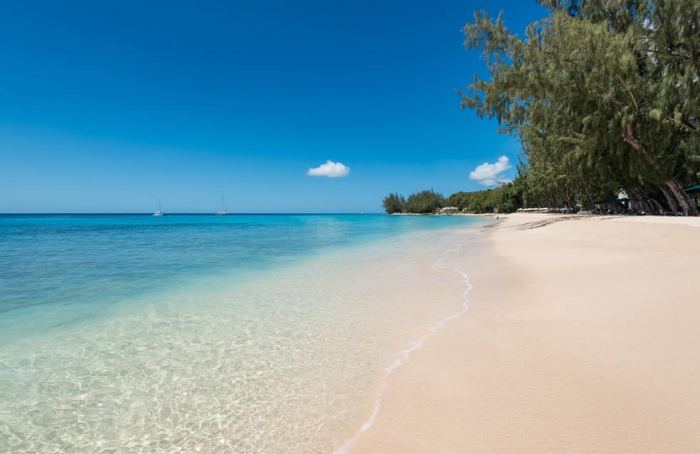 coral reef club hotel barbados beach