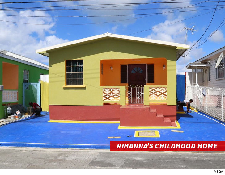 rihanna childhood home barbados