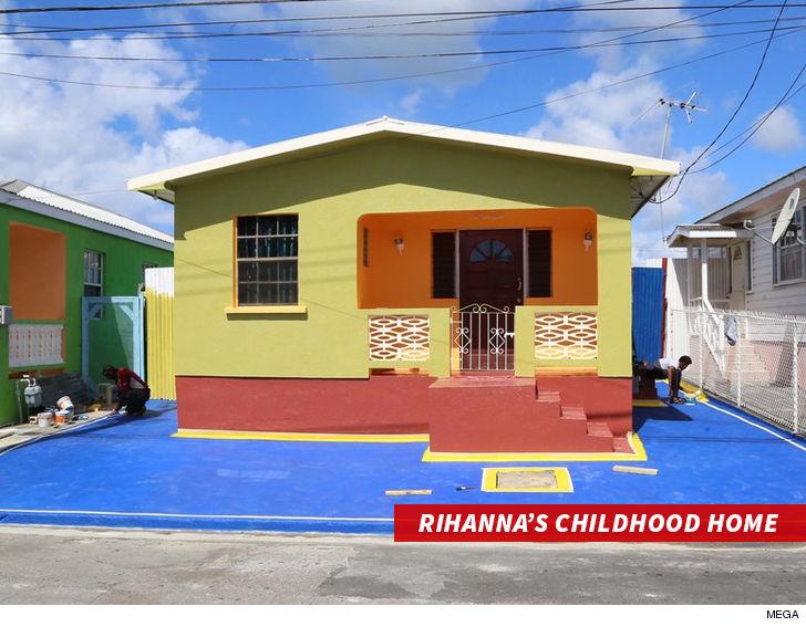 rihanna childhood home barbados