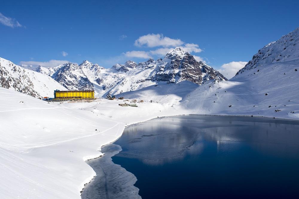 estações de esqui no chile - portillo
