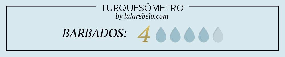 TURQUESOMETRO-BARBADOS LALA REBELO