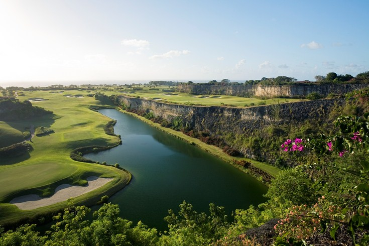 the green monkey barbados golf course