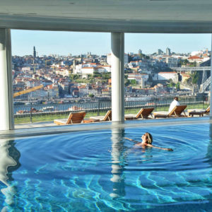 as piscinas mais lindas do mundo - the yeatman porto portugal - SPA