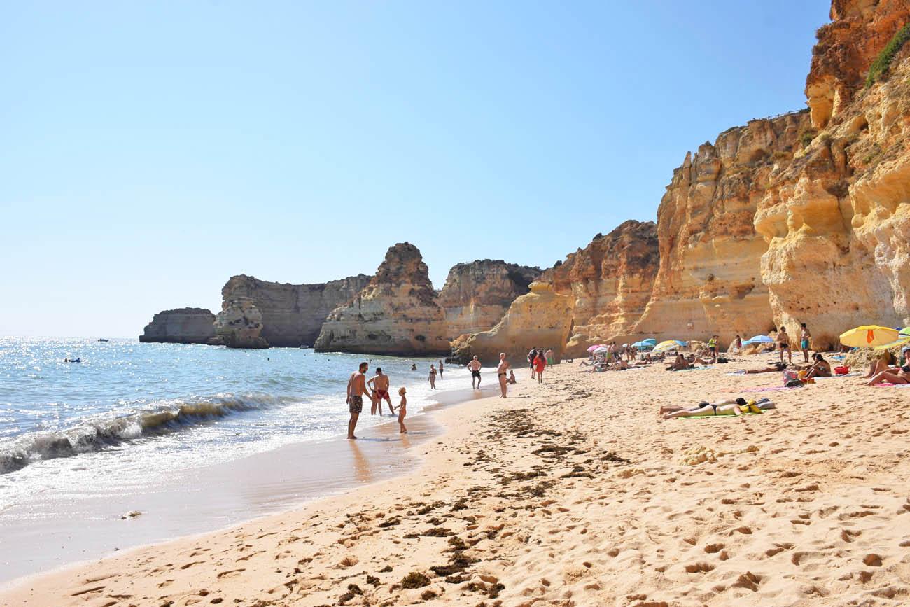 dicas do algarve portugal praia da marinha