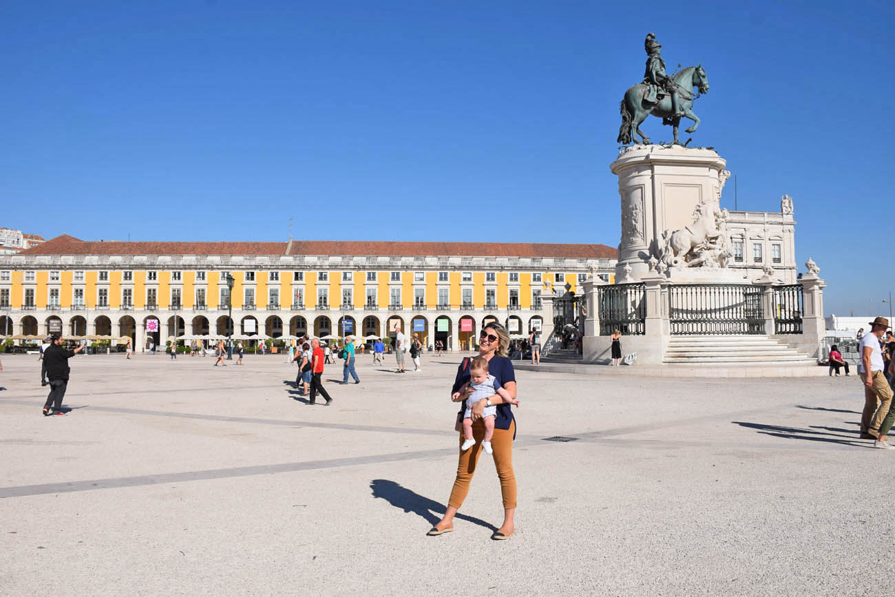 dicas de lisboa - Praça do Comércio - Portugal - Lala Rebelo