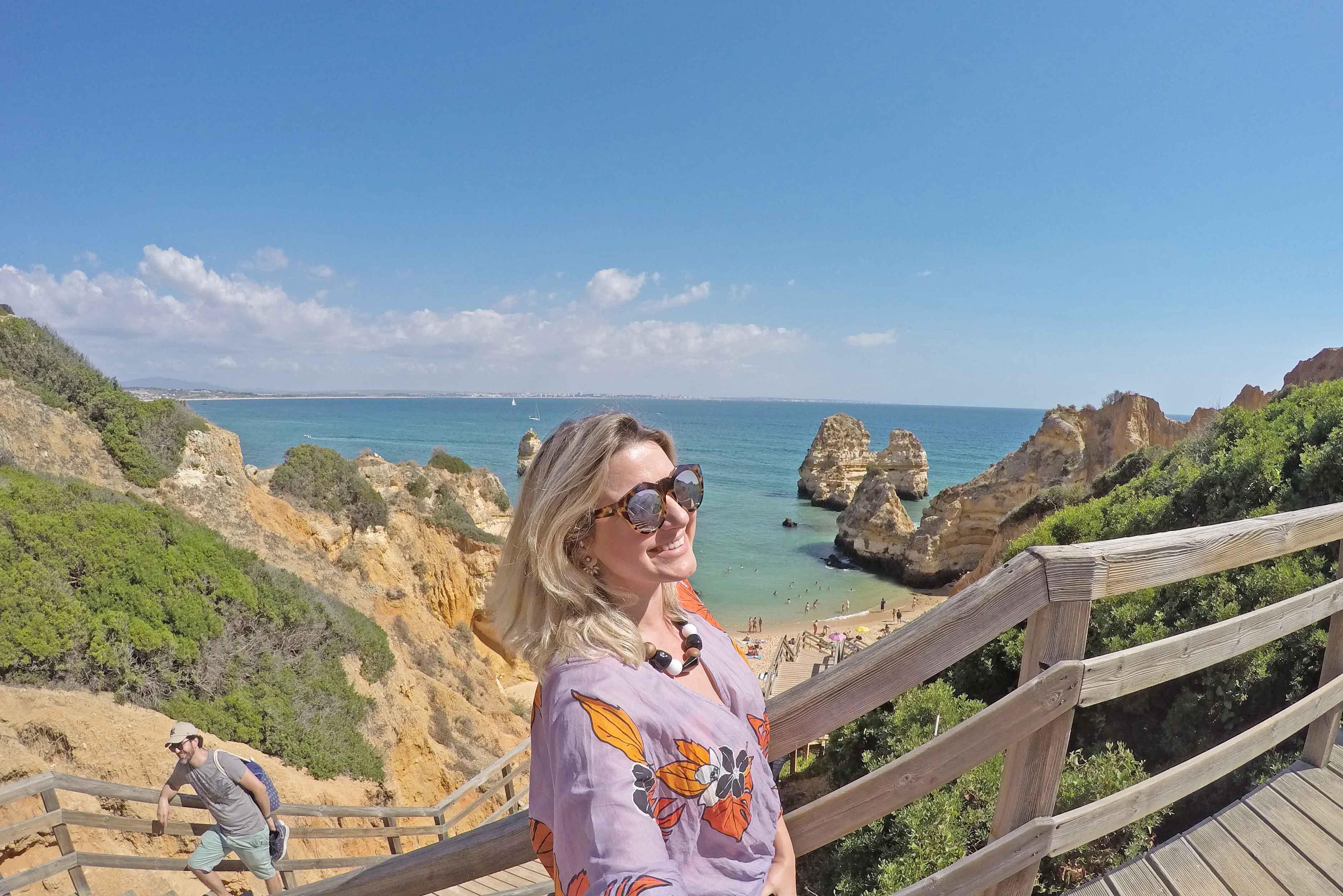 dicas do algarve portugal praia do camilo