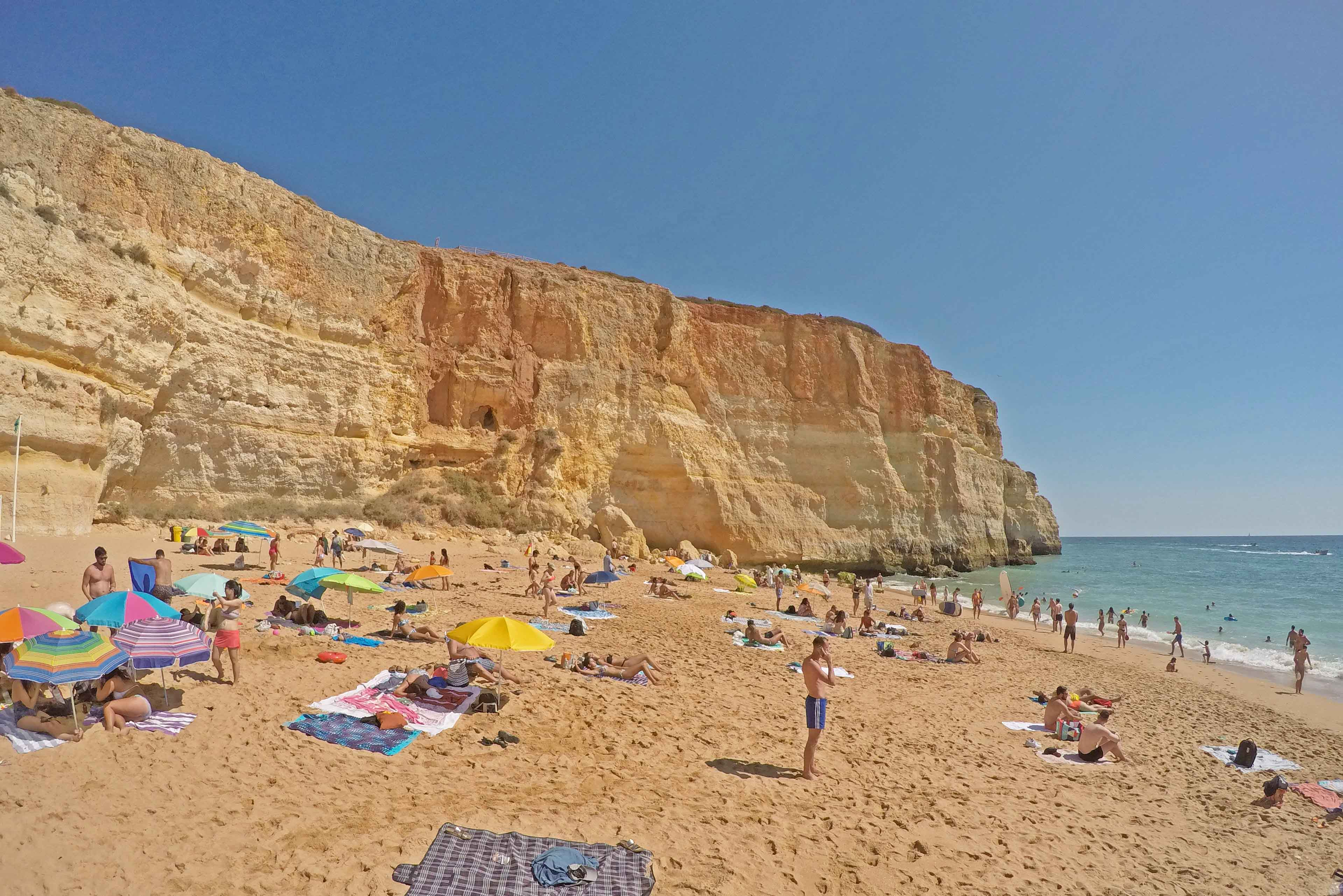 dicas do algarve portugal praia benagil