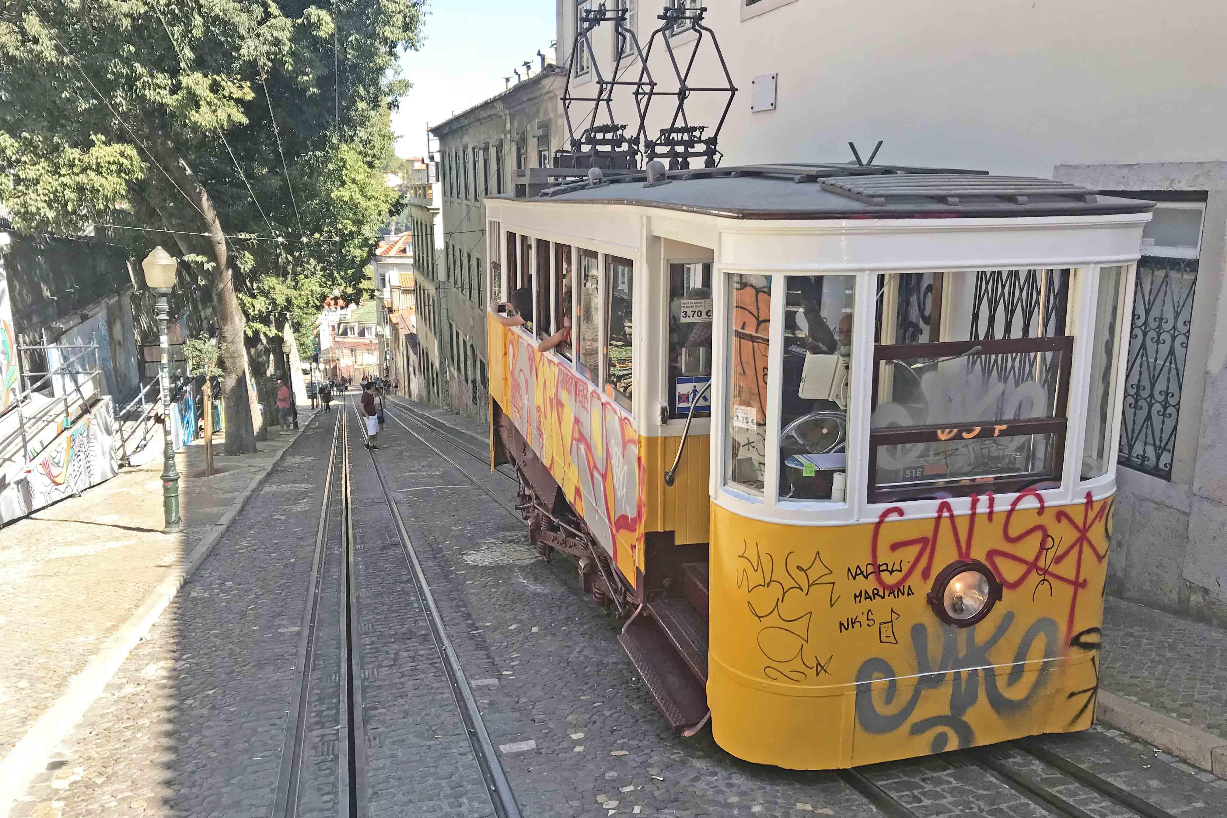 dicas de portugal - Ascensor da Glória - lisboa