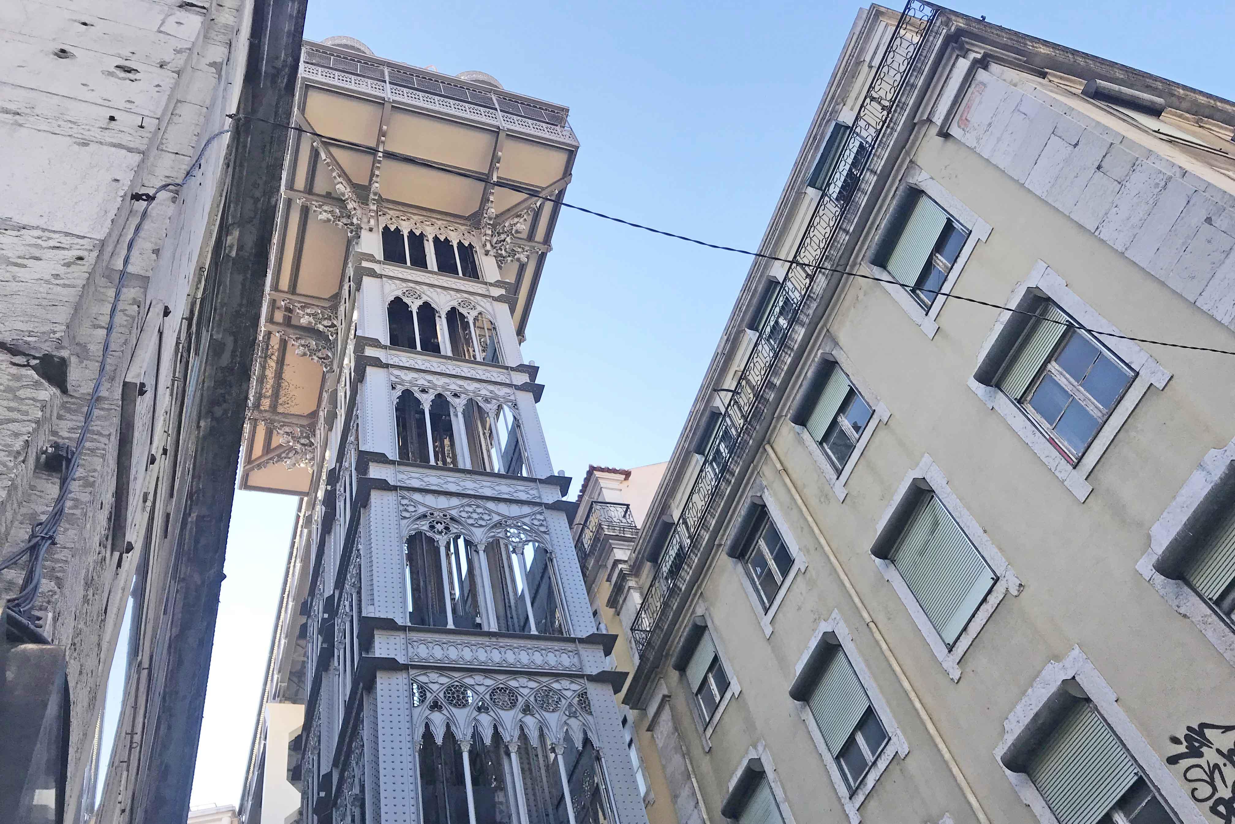 dicas de portugal - Elevador de Santa Justa - Lisboa