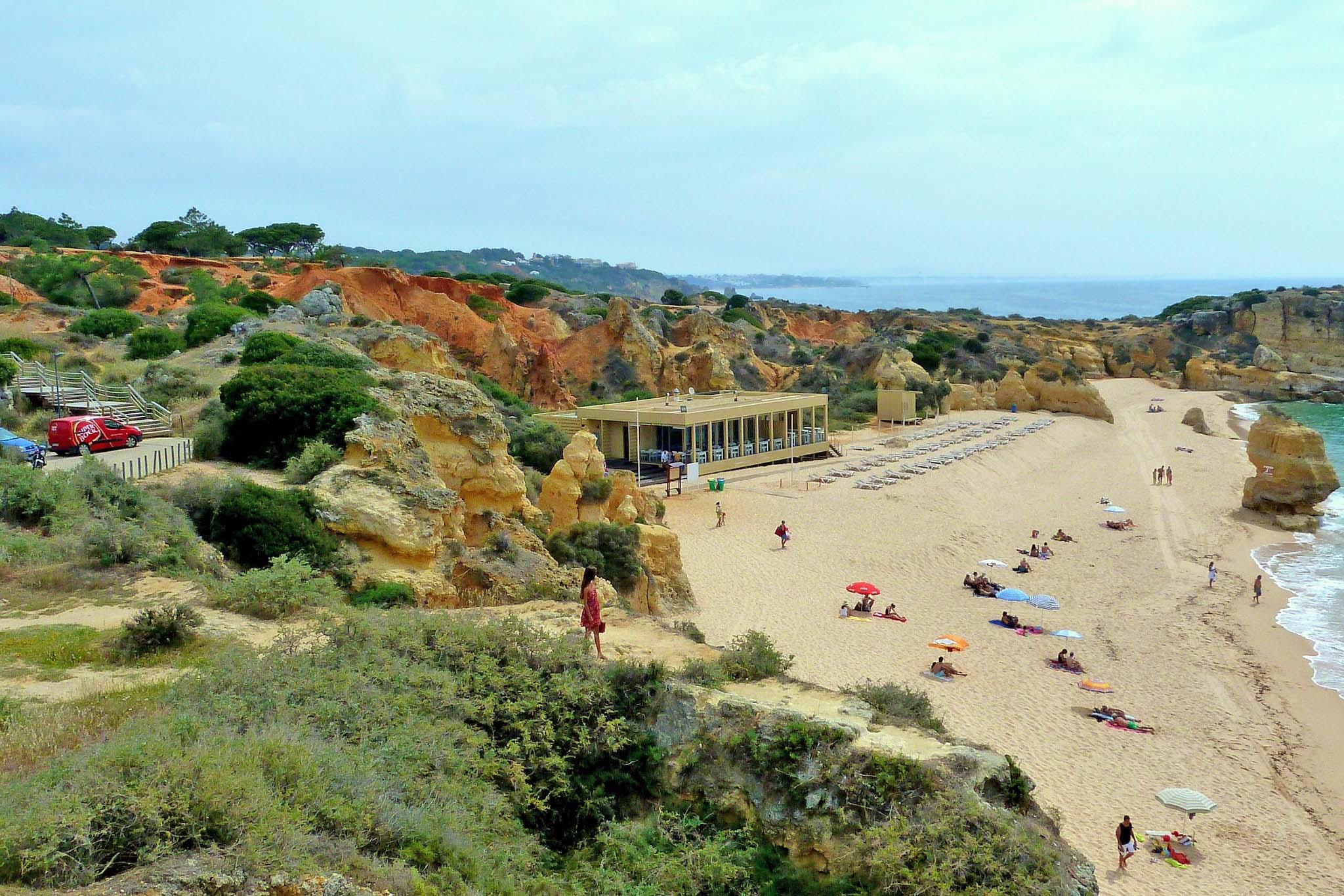 praia de sao rafael albufeira algarve