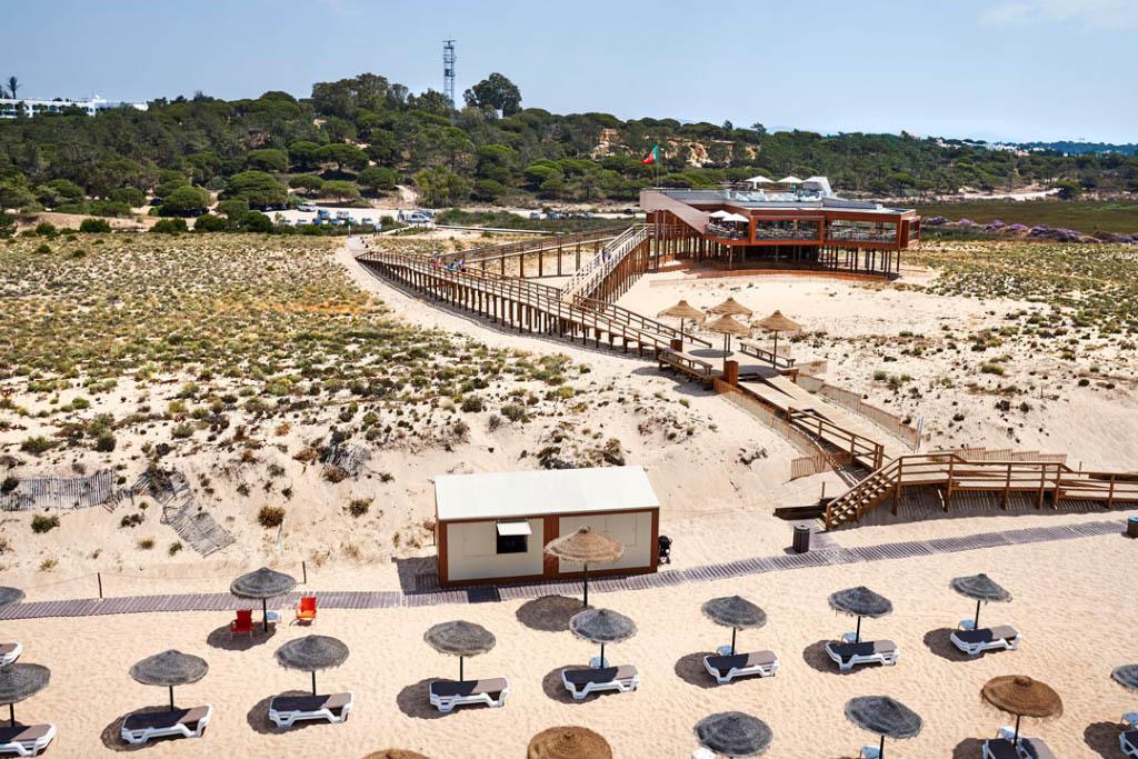restaurante 2 passos praia do ancao algarve portugal