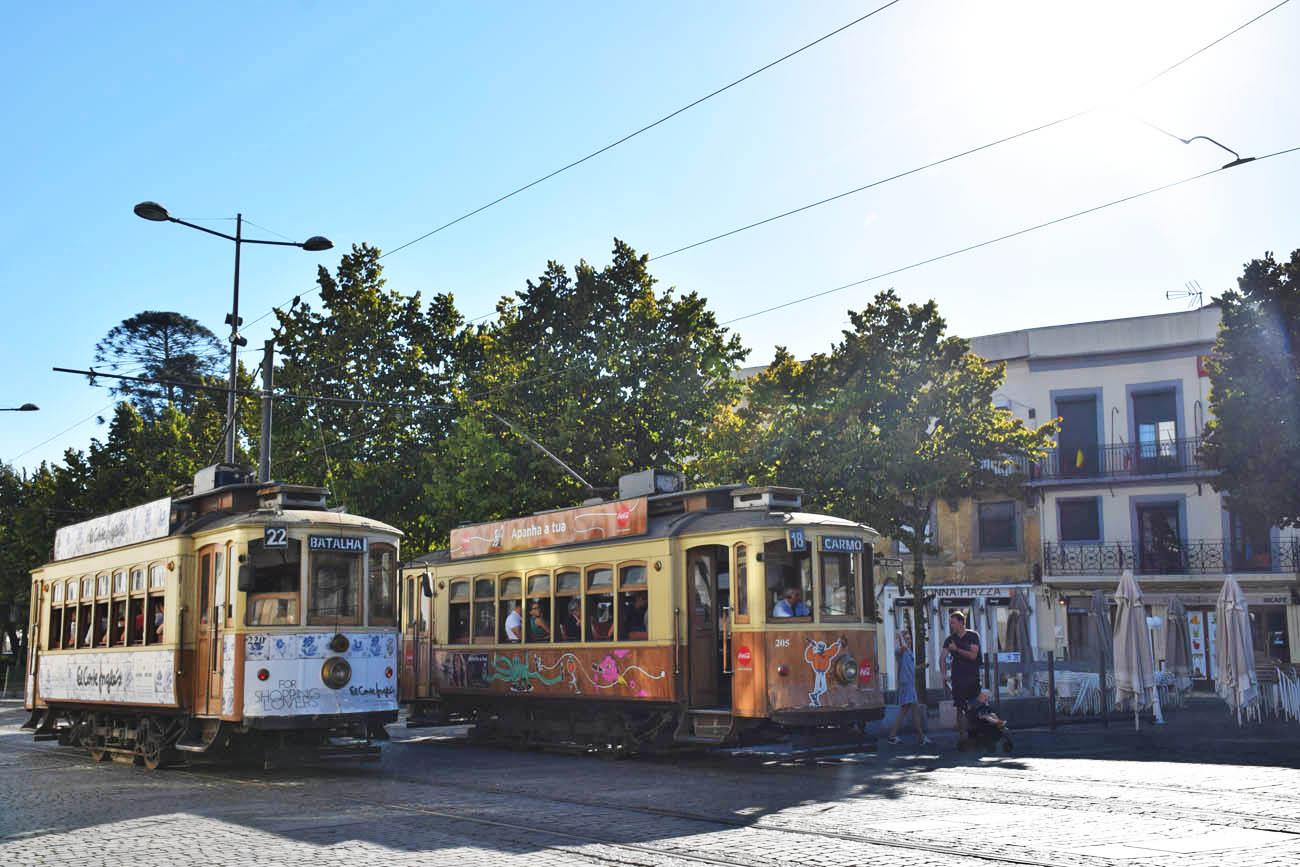 bonde cidade do porto - elétricos do porto - como se locomover na cidade do porto - Lala Rebelo