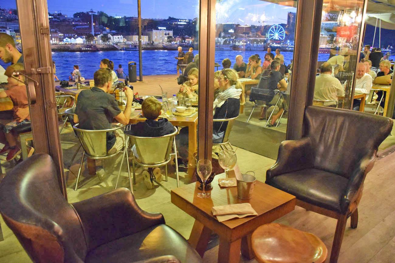 dicas de restaurantes porto - ribeira - cafe do cais - lala rebelo
