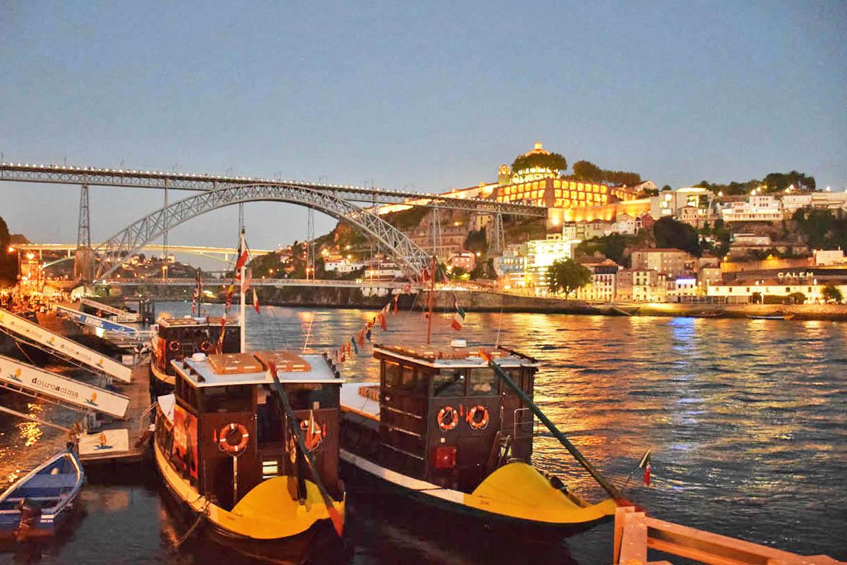 Barcos Rabelo - cidade do Porto - Portugal - Lala Rebelo