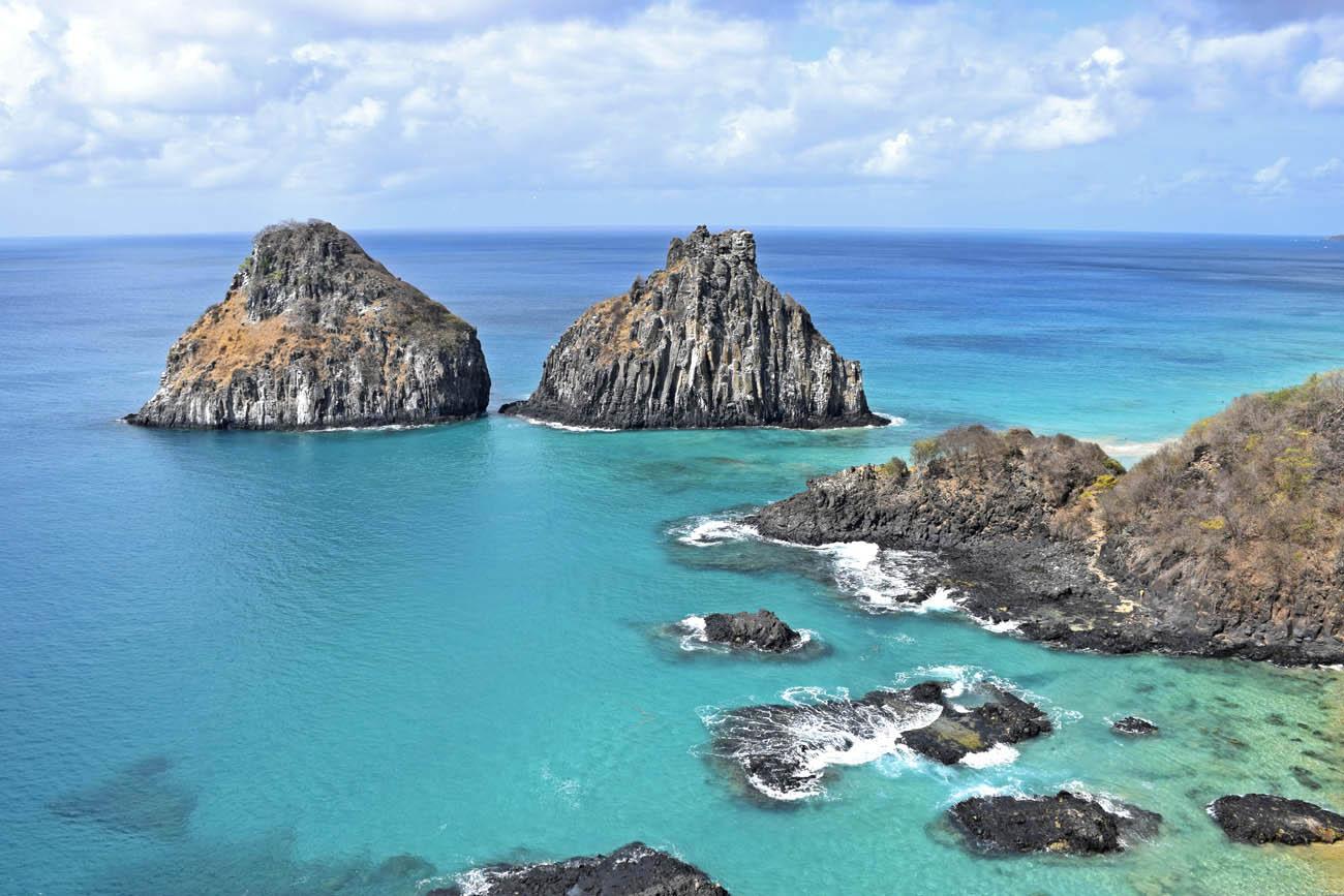 Dicas de Fernando de Noronha - Baía dos Porcos - Morro Dois Irmãos - Mirante - Lala Rebelo