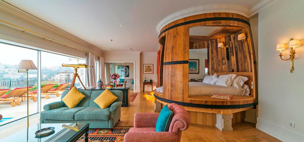 Hotel The Yeatman - Suíte Presidencial - Porto - Vila nova de gaia - portugal